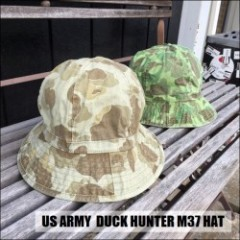 US ARMY DUCK HUNTER M37 HAT/ダックハンターM37ハット・2color