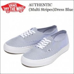 VANS USA(バンズ) 2014' AUTHENTIC(オーセンティック) 【Multi Stripes/Dress Blue】