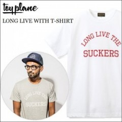 TOYPLANE(トイプレーン) 2014'夏物新作 LONG LIVE WITH T-SHIRT(Tシャツ) 【2color】