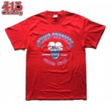 FRISCO CHOPPERS/フリスコチョッパーズ SKULL MOTOR SS TEE/Tシャツ・RED