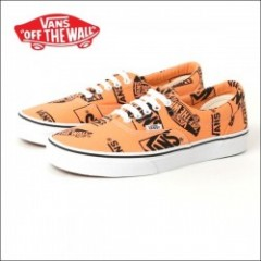 VANS USA/ヴァンズ ERA/エラ・(LOGO MIX) TANGERINE/BLACK