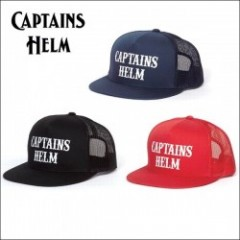 CAPTAINS HELM/キャプテンズヘルム #LOCALS LOGO MESH CAP/メッシュキャップ・3color