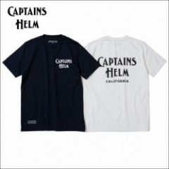 CAPTAINS HELM/キャプテンズ・ヘルム 2016'FW #CH LOGO TEE -CALIFORNIA-/Tシャツ・2colo