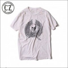 CycleZombies/サイクルゾンビーズ RIPPER Fall Garage Made SS T-SHIRT/Tシャツ・WHITE
