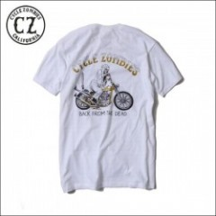 CycleZombies/サイクルゾンビーズ YELLOW FEVER SS T-SHIRT/Tシャツ・WHITE