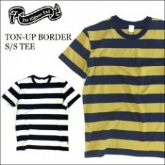THE HIGHEST END/ザ・ハイエストエンド TON-UP BORDER SS TEE/ボーダーTシャツ・2color