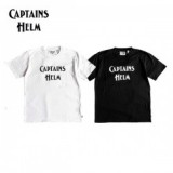 CAPTAINS HELM/キャプテンズヘルム #BACTERIA-PROOF LOGO TEE/ロゴTシャツ・2color