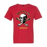 "TOM FUGLE OLD REPLICA ""HAVE A NICE DAY T-SHIRTS"" /レプリカTシャツ・RED"