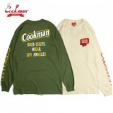COOKMAN/クックマン Long sleeve T-shirts 「Tape Logo」/ロングスリーブTシャツ・2color