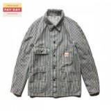 PAYDAY/ペイデイ BASIC COVERALL JACKET/カバーオール・HICKORY