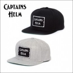 CAPTAINS HELM/キャプテンズヘルム #LOGO WP SNAP BACK/キャップ・2color