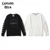 CAPTAINS HELM/キャプテンズヘルム #CHT LS TEE/ロングスリーブTシャツ・2color