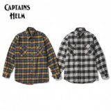CAPTAINS HELM/キャプテンズヘルム #OVER-SIZE FLANNEL SHIRTS/フランネルシャツ・2color