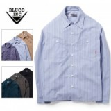 BLUCO WORK GARMENT/ブルコ STANDARD WORK SHIRTS LS/ワークシャツ OL-109-020・6color