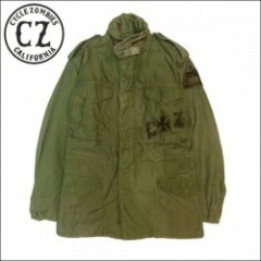 CycleZombies/サイクルゾンビーズ IRON CROSS Used Military Jacket M65/カスタムユーズドM65ジャケット・S