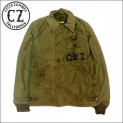 CycleZombies/サイクルゾンビーズ IRON CROSS Used Military Jacket A2/カスタムユーズドA2ジャケット・S