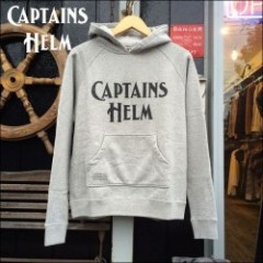 CAPTAINS HELM/キャプテンズ・ヘルム 2016'A/W #CH LOGO SWEAT HOODIE/プルオーバーパーカー・GRAY