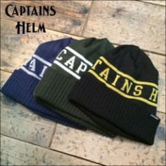 CAPTAINS HELM/キャプテンズ・ヘルム 2016'AW #CH LOGO KNIT CAP/ニットキャップ・3color