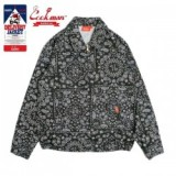COOKMAN/クックマン Delivery Jacket/デリバリージャケット・「Paisley」 Black