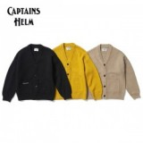 CAPTAINS HELM/キャプテンズヘルム #OVER-SIZE CARDIGAN/カーディガン・3color