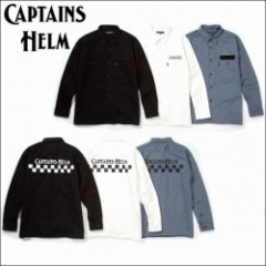 CAPTAINS HELM/キャプテンズヘルム #CH WORK SHIRT/ワークシャツ・3color