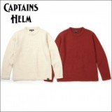 CAPTAINS HELM/キャプテンズヘルム #NATIVE UNEVEN KNIT/ニット・2color