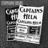 CAPTAINS HELM/キャプテンズヘルム #STICKER SHEET/ステッカーシート・2color