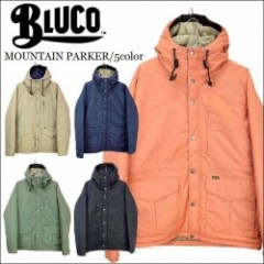 BLUCO WORK GARMENT/ブルコ 2016'秋冬 MOUNTAIN PARKER/マウンテンパーカー・5color