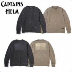 CAPTAINS HELM/キャプテンズヘルム #AMERICAN FLAG SWEAT/スウェット・2color