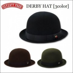SEVENTY FOUR(セブンティーフォー) 2014秋冬 DERBY HAT(ダービーハット) 【3color】