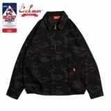 COOKMAN/クックマン Delivery Jacket/デリバリージャケット・「Ripstop」 Camo Black (Woodland)
