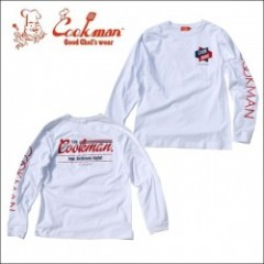 COOKMAN/クックマン Long sleeve T-shirts「Delicious Night」/ロングスリーブTシャツ・WHITE