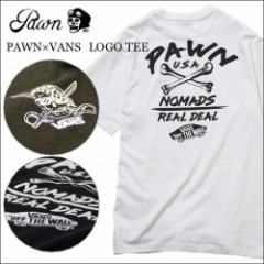 PAWN/パウン 2016'秋冬 PAWN×VANS LOGO TEE/Tシャツ・2color