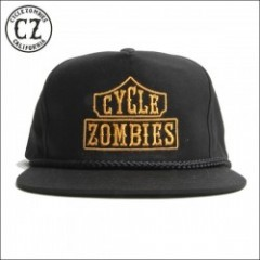CycleZombies/サイクルゾンビーズ BLACK LIST Golf Snapback Hat/キャップ・BLACK