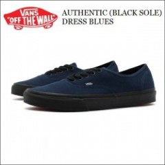 VANS USA/バンズ AUTHENTIC(BLACK SOLE) DRESS BLUES/オーセンティック VN-0003Z3HXO