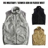 US MILITARY / ECWCS GEN III FLEECE VEST/フリースベスト・3color