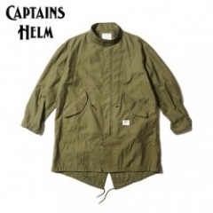 CAPTAINS HELM/キャプテンズヘルム #FISH TAIL MILITARY JKT -SOLID/モッズコート