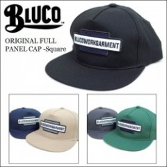 BLUCO WORK GARMENT/ブルコ 2017'春夏 ORIGINAL FULL PANEL CAP -Square/フルパネルキャップ・5color