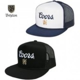 BRIXTON×COORS/ブリクストン×クアーズ CASK HP MESH CAP/メッシュキャップ・2color