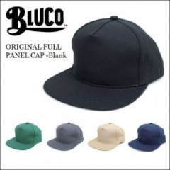 BLUCO WORK GARMENT/ブルコ 2017'春夏 ORIGINAL FULL PANEL CAP -Blank/フルパネルキャップ・5color