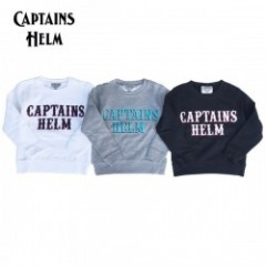 CAPTAINS HELM/キャプテンズヘルム #LOCALS LOGO KIDS SWEAT/キッズ スウェット・3color