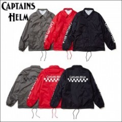 CAPTAINS HELM/キャプテンズヘルム #CH CHECKER COACH JACKET -2018 NEW YEAR ITEM/コーチジャケット・3color