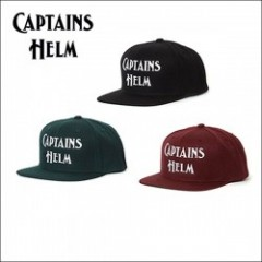 CAPTAINS HELM/キャプテンズヘルム #LOGO SNAP BACK -2018 NEW YEAR ITEM/キャップ・3color
