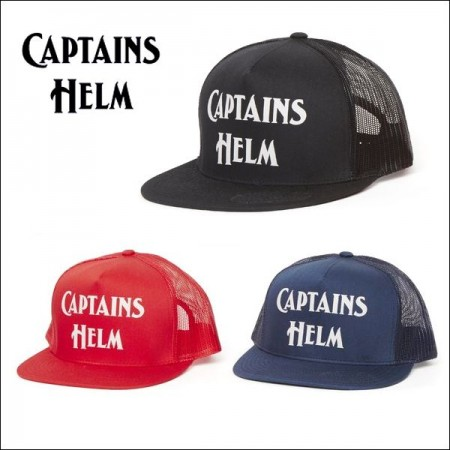 CAPTAINS HELM/キャプテンズ・ヘルム LOGO MESH CAP -REGULAR COLOR-