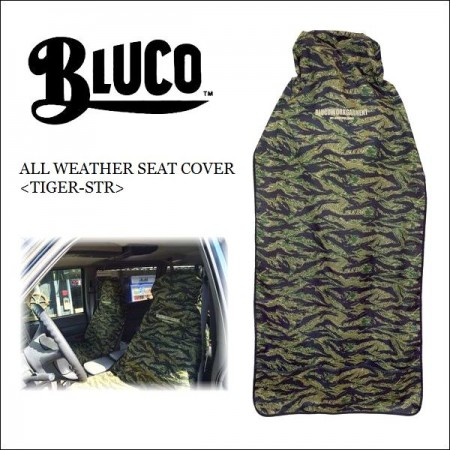 BLUCO WORK GARMENT/ブルコ ALL WEATHER SEAT COVER/車用シートカバー・TIGER-STR