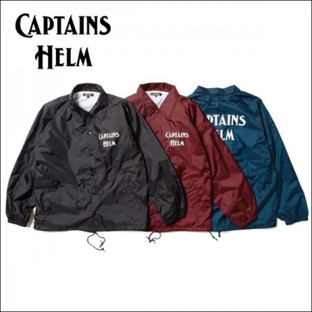 CAPTAINS HELM/キャプテンズ・ヘルム 2017'SS #CH LOGO COACH JACKET/コーチジャケット・3color