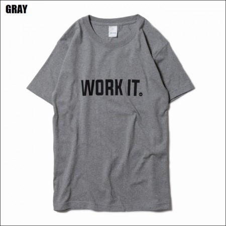 BLUCO WORK GARMENT/ブルコ SUPER HEAVY WEIGHT TEE' S -WORK IT-/Tシャツ・3color