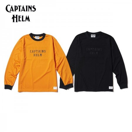 CAPTAINS HELM/キャプテンズヘルム #GOLDEN STATE MESH LS TEE/メッシュロングスリーブTシャツ・2color