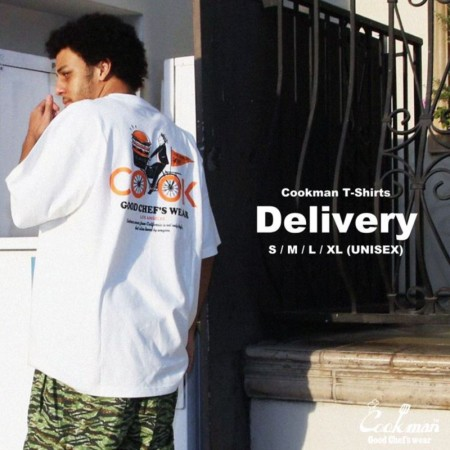 COOKMAN/クックマン T-shirts/Tシャツ「Delivery」・2color