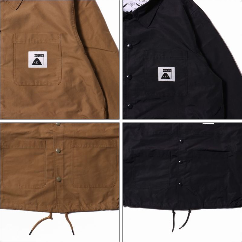 POLER/ポーラー SUMMIT COVERALL COACH JACKET/コーチジャケット・2color